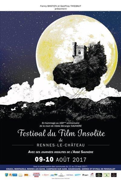 Festival film Insolite Rennes le Château 2017 - https://festivalfilminsoliterenneslechateau.fr