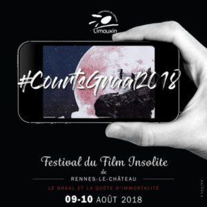 Courts Graal 2018 - Festival Film Insolite Rennes le Château - festivalfilminsoliterenneslechateau.fr