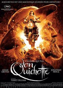 L'homme qui voulait tué Don quichotte film de Terry Guilliam