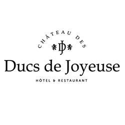 Château des Ducs de Joyeuse - https://festivalfilminsoliterenneslechateau.fr - Logo Partenaire du Festival Insolite Renne le Château