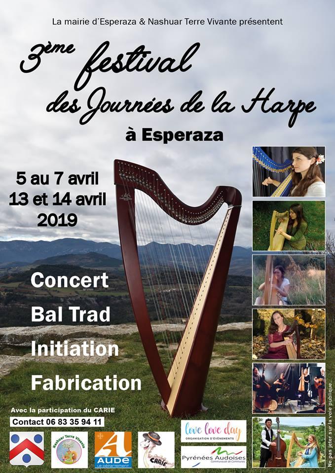 Harp Festival -  Festival Insolite Renne le Château 2016