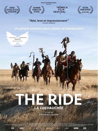 "Affiche : The Ride "" la Chevauchée """