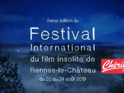 Annonce radio du Festival Insolite Renne le Château avec Chérie FM