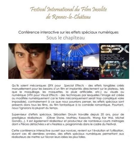 conference sebastien drouin