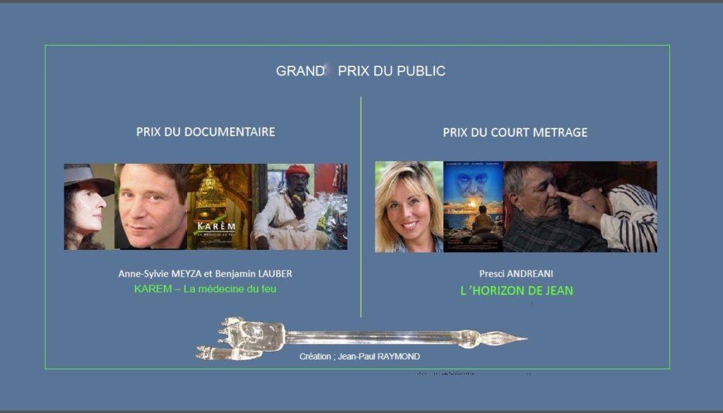 prix du public court metrage et documentaire festival international du film insolite de rennes le chateau 2019