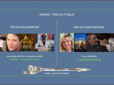 Prix Public court métrage et documentaire 2019