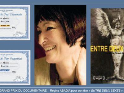 "Grand Prix du jury 2019 ""entre deux sexe"" Regine Abadia"