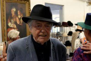 Jean Pierre Mocky a la fabrique de Montcalpel en 2016