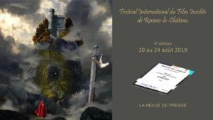 Dossier de Presse Festival du Film Insolite de Rennes le Château 2015 - 2016 - 2017 - 2018 - 2019
