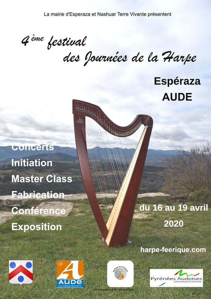 4eme festival de l'harpe