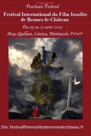 Festival International du Film Insolite de Rennes le Château 2020