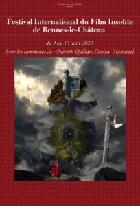 Festival international du film insolite de rennes le chateau 2020 aura lieu du 9-13 aout