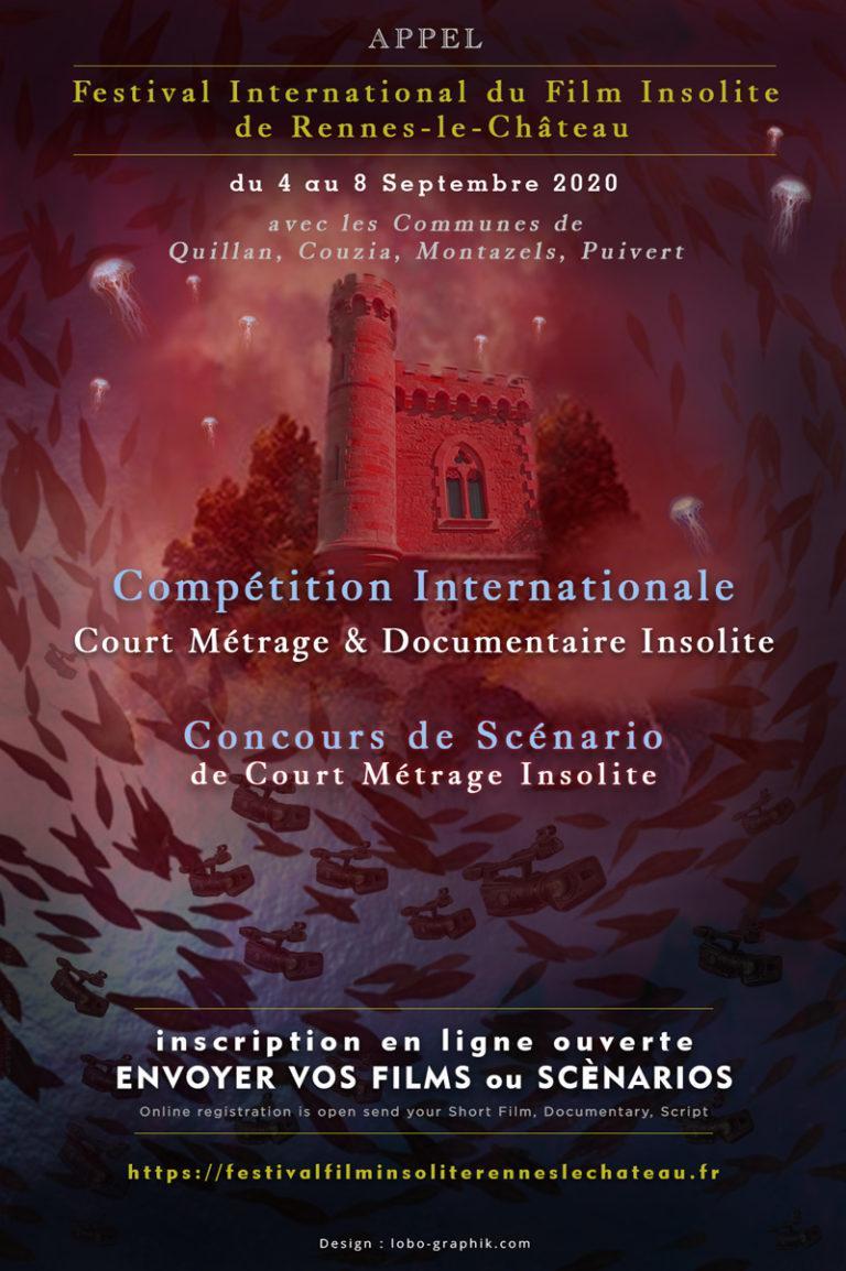 FESTIVAL FILM INSOLITE 2020 - SÉLECTION CONCOURS