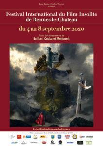 Festival International du film Insolite Rennes le Château 2020 du 4 au 8 septembre avec les Communes de Quillan, Couiza, Montazels, Puivert