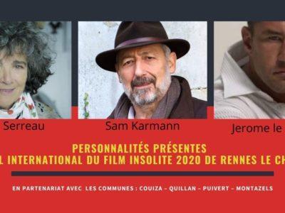 Festival Insolite 2020 avec Coline Serreau, Sam Karmann et Jerome le Banneur