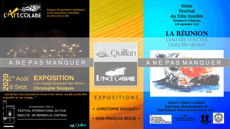 visuel Expositions Espace Cathare à Quillan - 24.08.2020