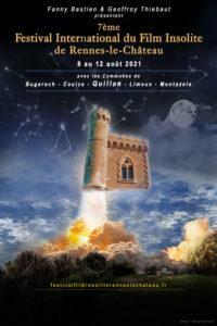 LE 7EME FESTIVAL DU FILM INTERNATIONAL DE RENNES-LE-CHÂTEAU DÉVOILE SON AFFICHE 2021
