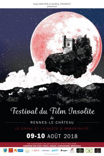 Festival International Film Insolite Rennes le Château 2018 - https://festivalfilminsoliterenneslechateau.fr